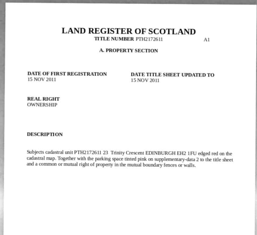 Sample land title from Scottish Land Registry. At Fast Data Science we worked on a natural language processing solution for interpreting land titles.